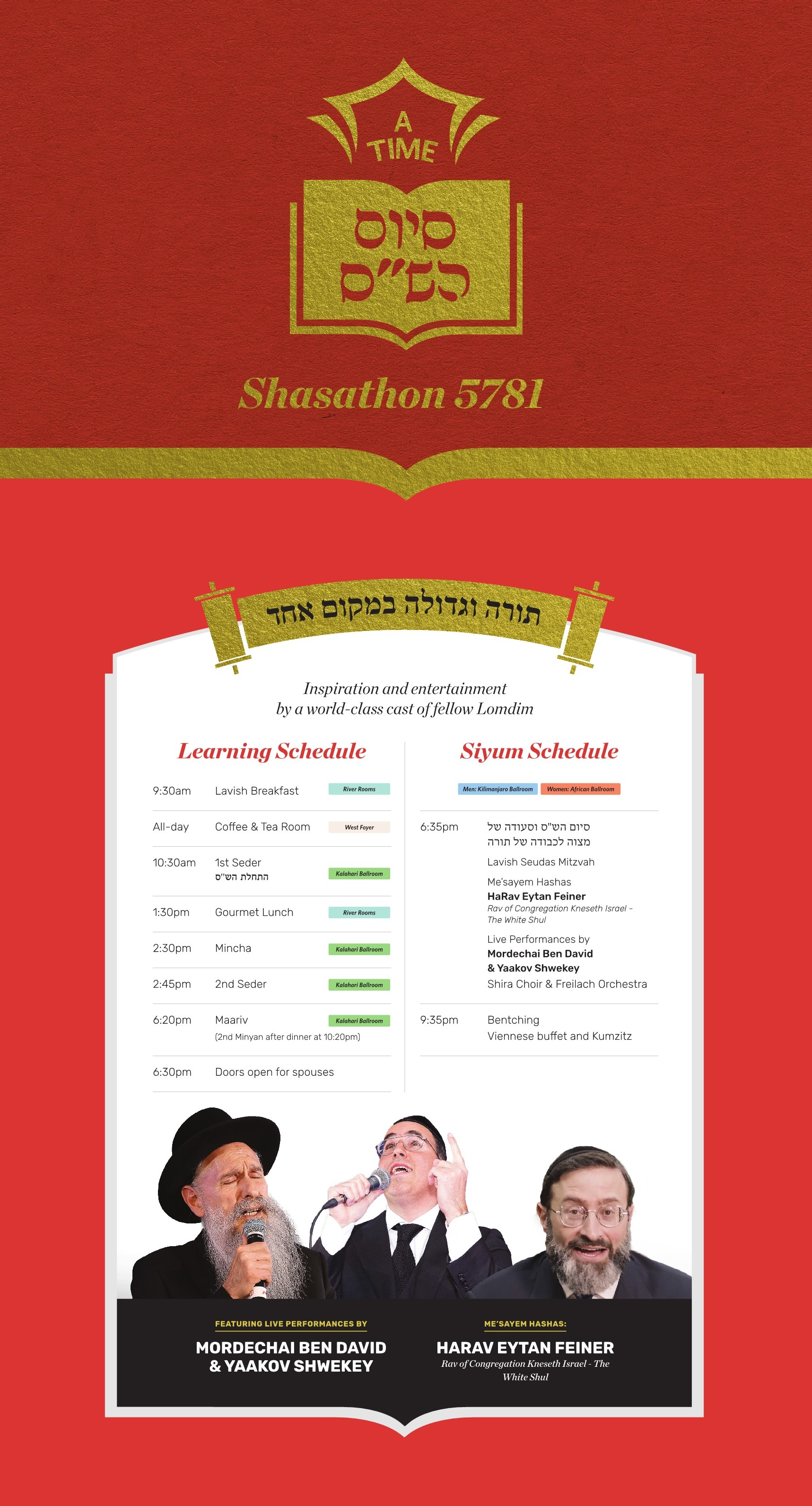 Shasathon5781Schedule